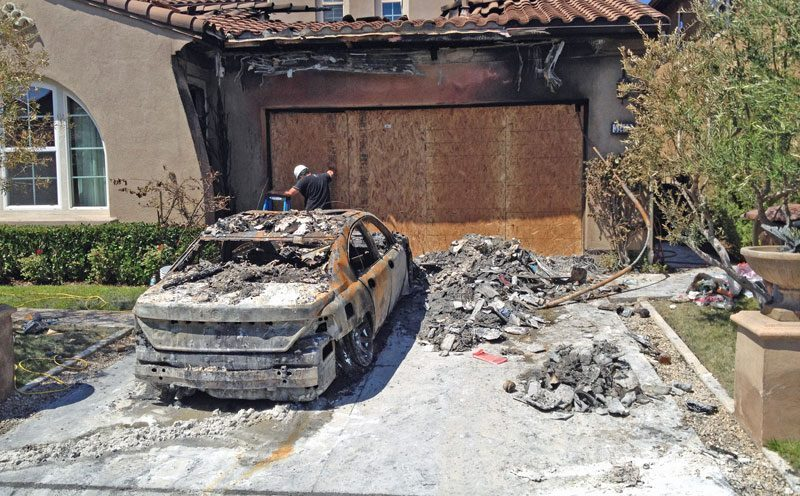 Fire Damage Restoration in Garden Grove