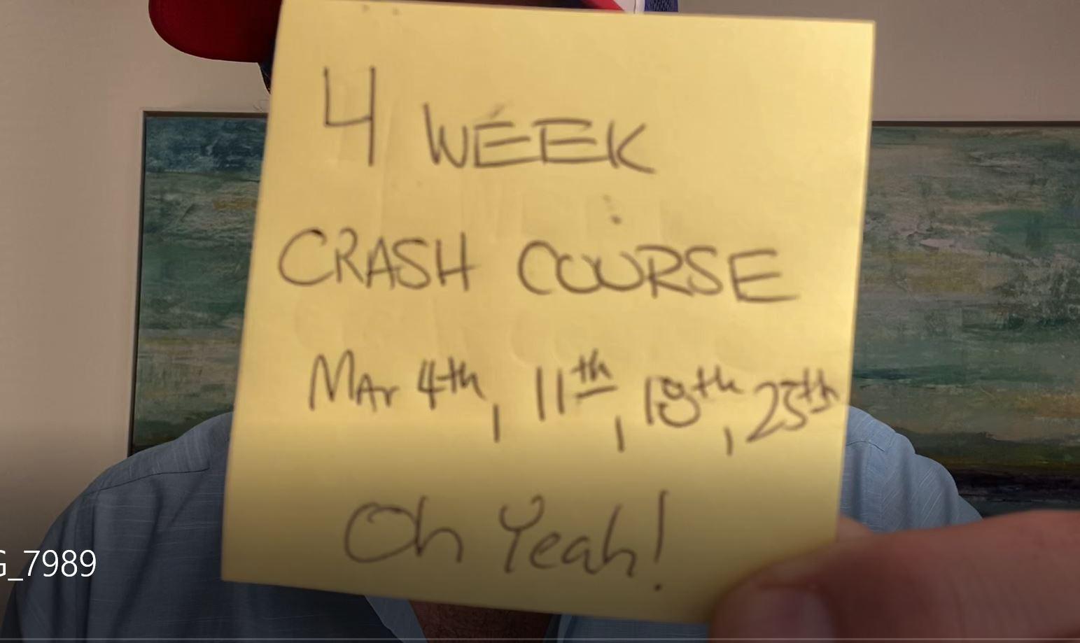 4 Week LinkedIn Crash Course!